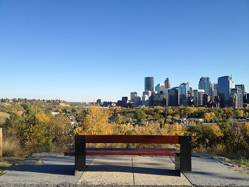 Photo essay: A weekend exploring a very 'naked' Calgary.