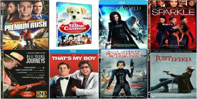 Day 4: $500 Gift A Day Giveaway Bonus! $500 worth of Sony BluRays and DVDs!  (CLOSED)