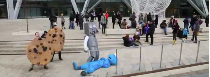 Dogs to Dinos: The Harlem Shake takes over Calgary! (Videos)