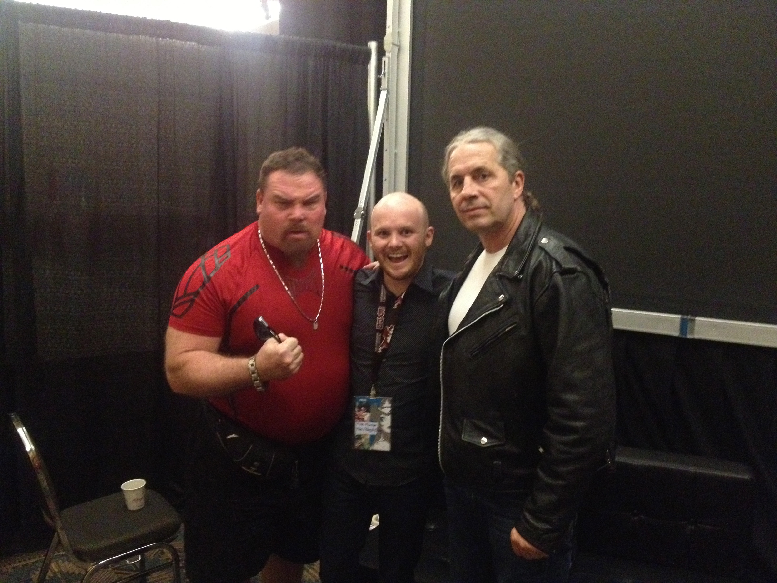 Video: Moderating The Hart Foundation panel at Calgary Expo!
