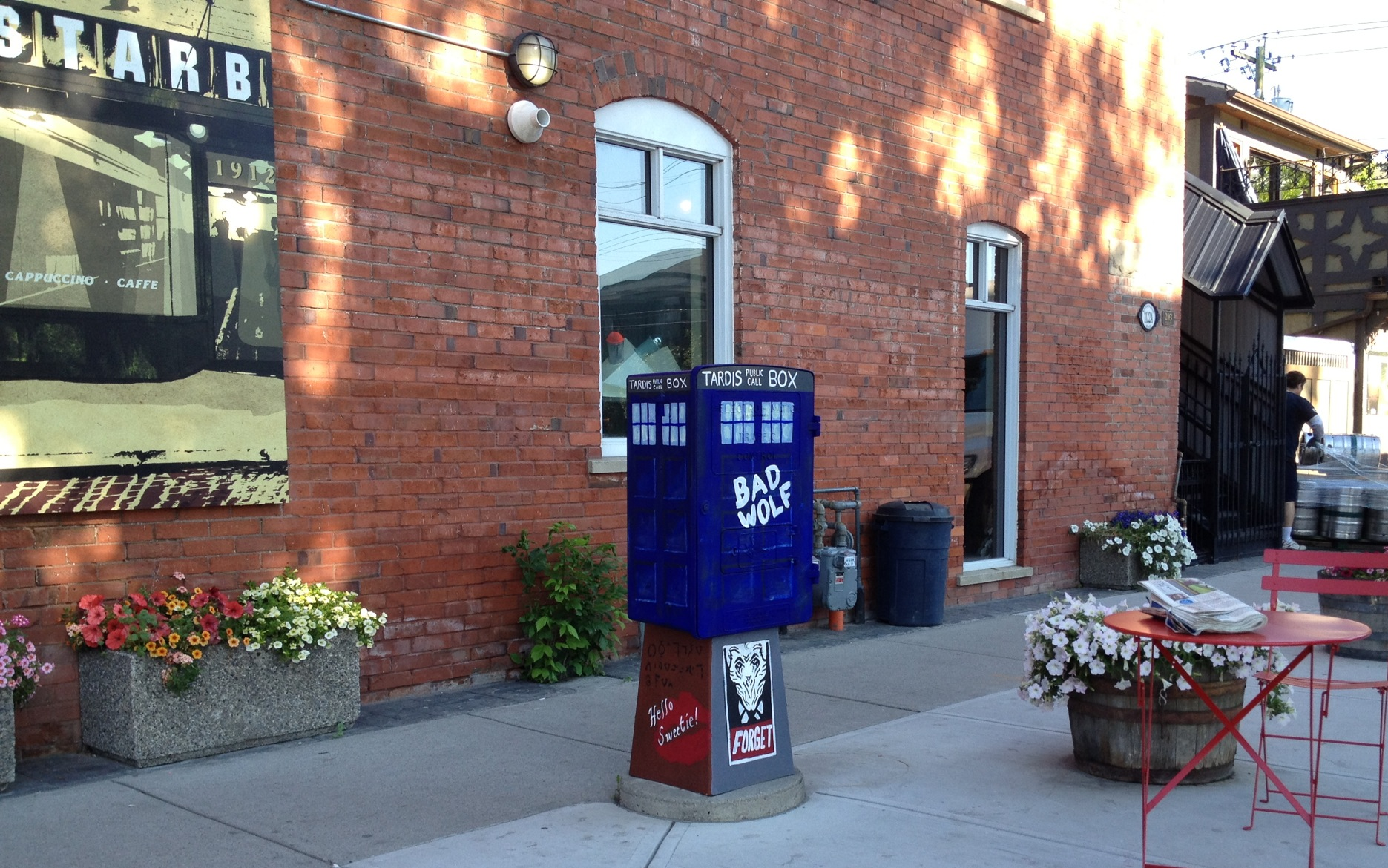 Dr. Who-inspired art comes to Calgary!