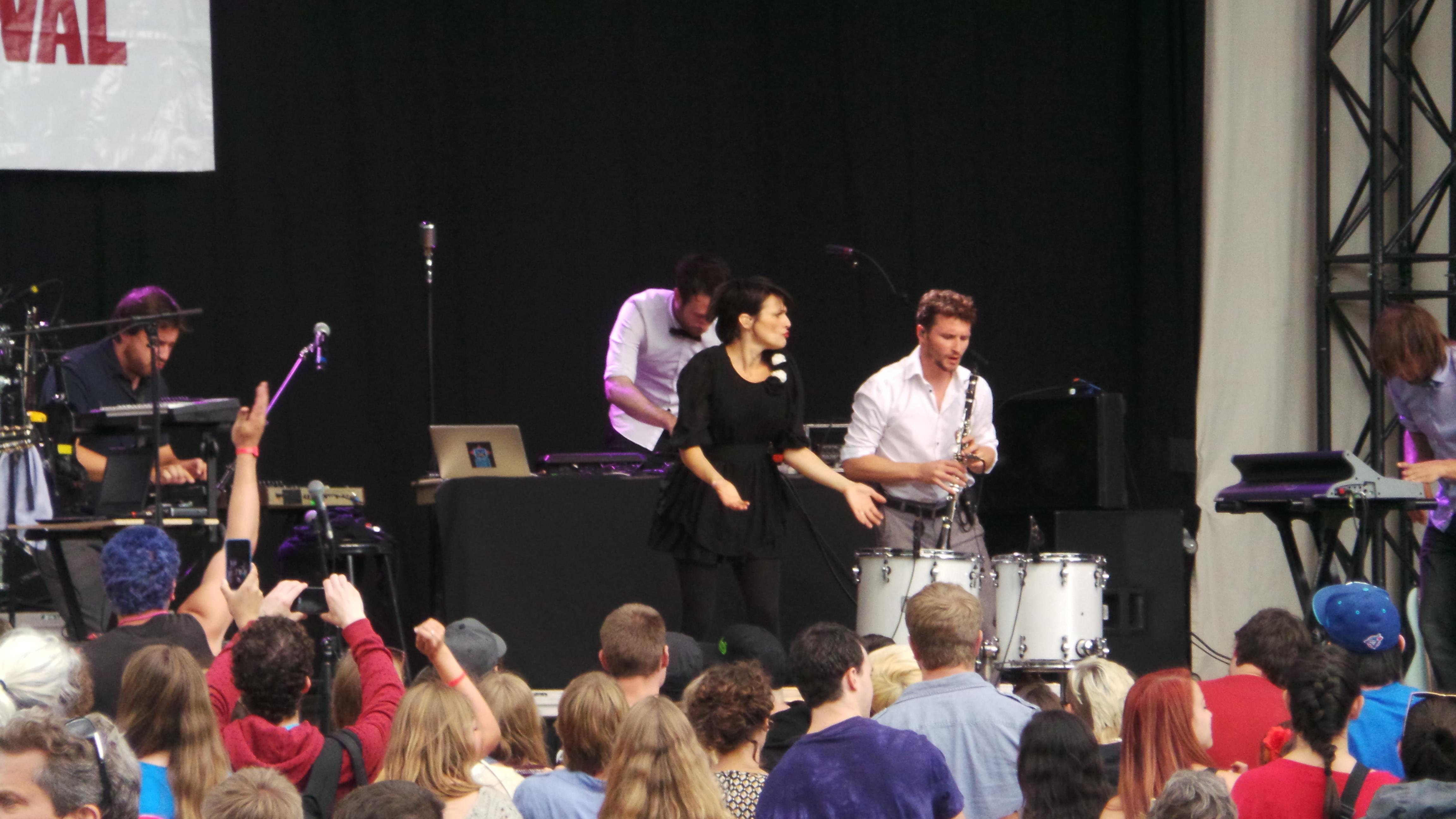 Calgary Folk Music Festival Find: Caravan Palace!
