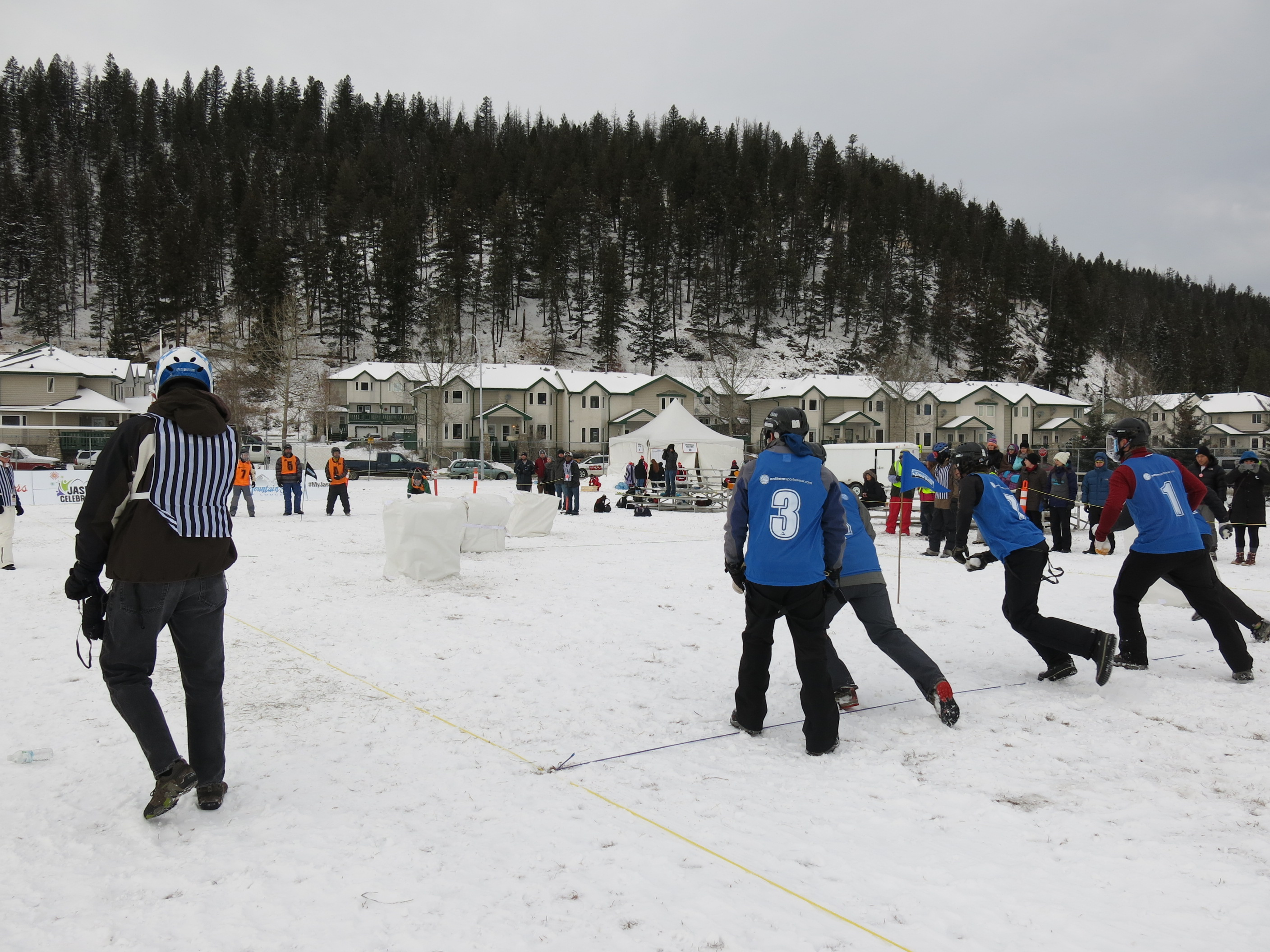World's biggest snowball fight comes to Jasper! – Mike's ...
