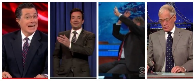 Video: Late night hosts have their way with Rob Ford!
