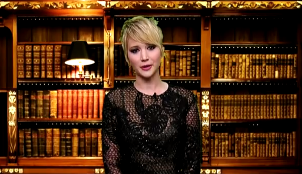 Video: Jennifer Lawrence takes on Rob Ford!
