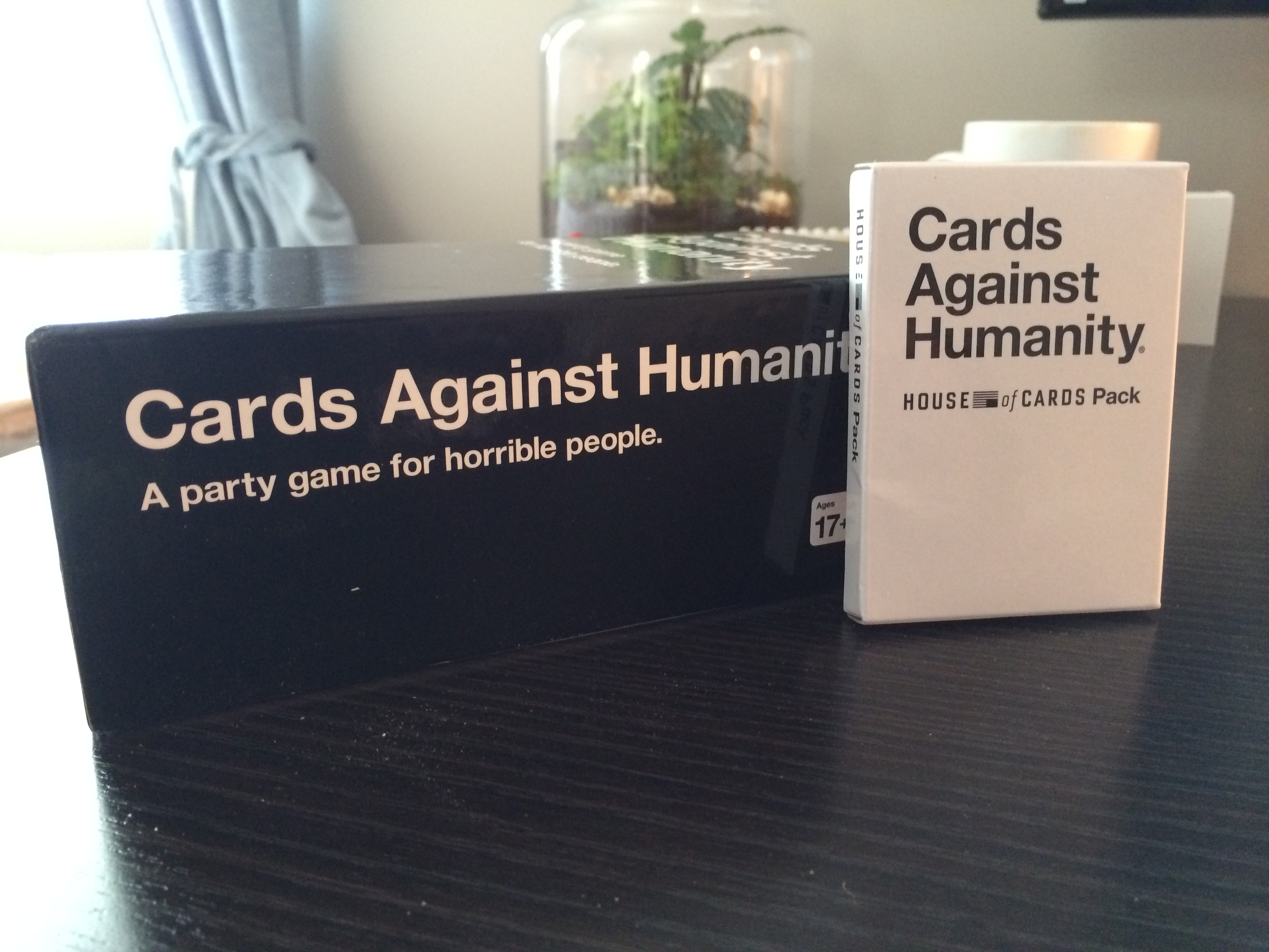 Contest: House of Cards meets Cards Against Humanity!