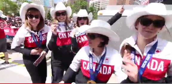 "Celebs join Team Canada in ultimate ""Happy"" video!"