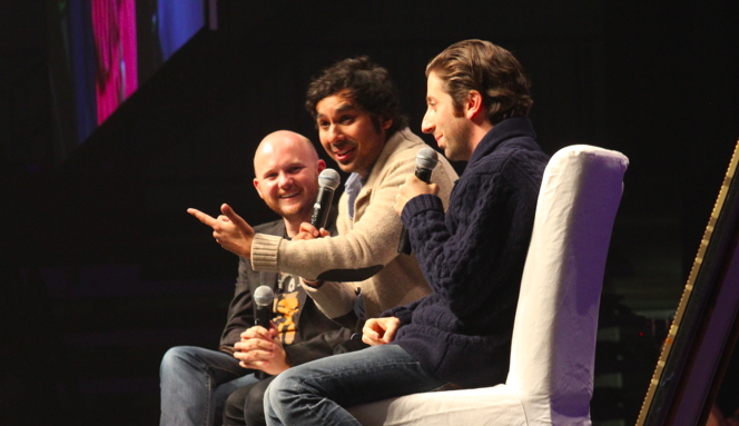 Video and photos from hosting The Big Bang Theory and Whedonverse panels at Edmonton Expo!