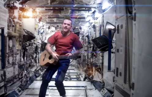 The odd case of Chris Hadfield's Space Oddity has been solved!