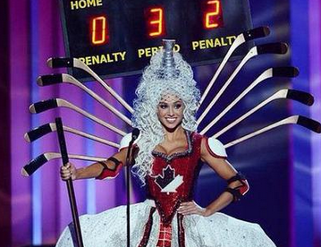 Miss Canada's costume has to be seen to be believed!