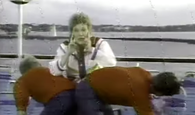 Video: Anne Murray's caribbean cruise special is classic and awesome!
