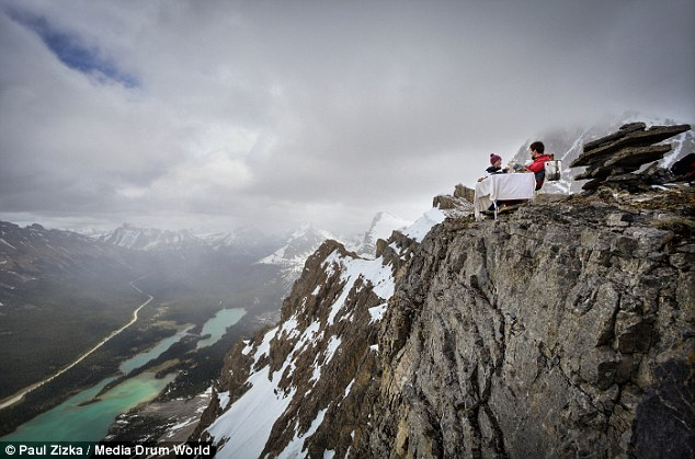 Couple's engagement photos in Banff are unbelievable!