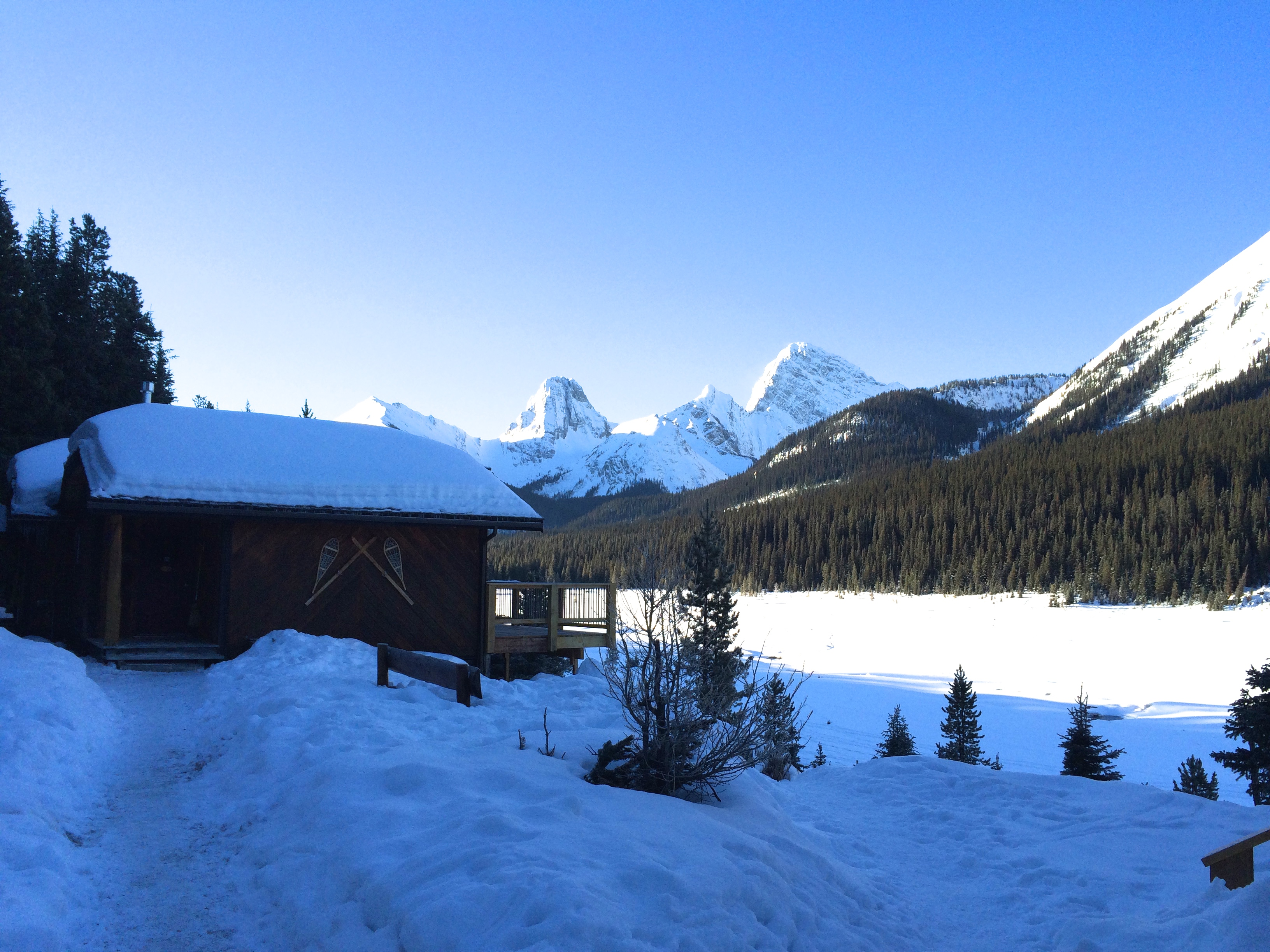 What is Alberta's best backcountry secret? Meet Mount Engadine Lodge.