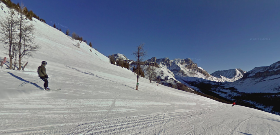 Did you know you can ski Alberta's slopes using Google Maps?