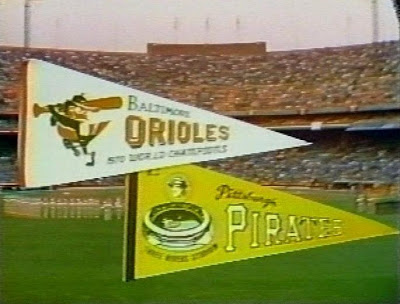 1971 World Series Game 6 Pennants