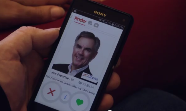 Video: What if Alberta politicians were on Tindr?