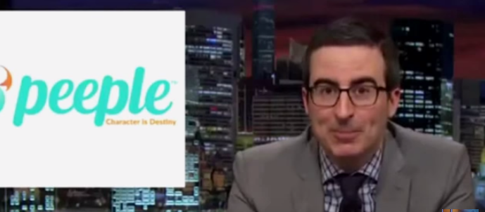 John Oliver weighs in on Peeple and creates an even better app and website!