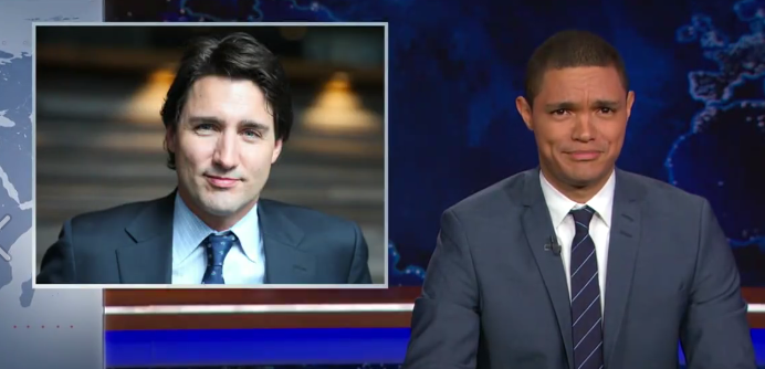 Here's what The Daily Show had to say about Canada's newest Prime Minister!