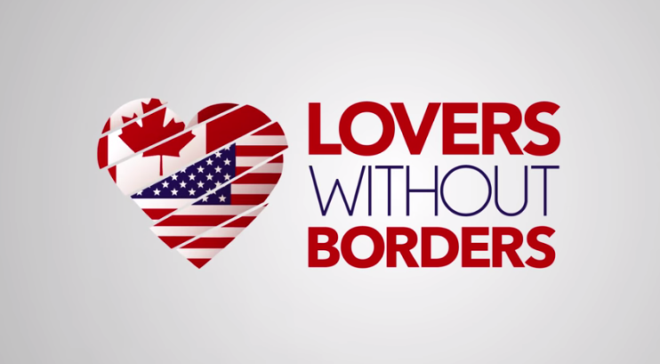 Lovers Without Borders is a Canadian dating site for Americans looking to flee Trump!