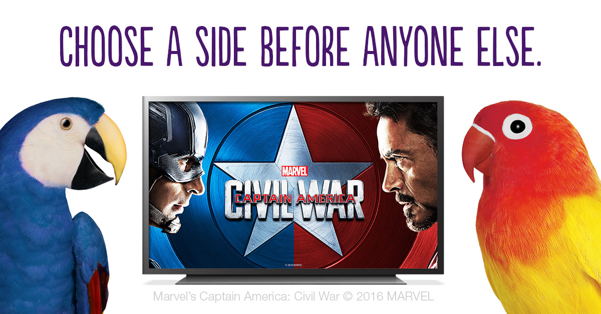 Captain America: Civil War and four other picks for a binge-worthy long weekend!