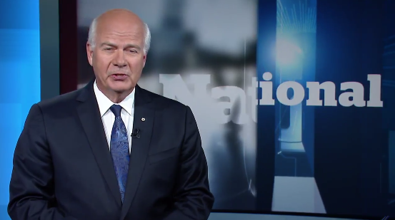 After 30 years, Peter Mansbridge stepping down from The National.