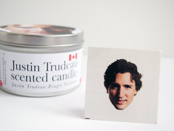 The Justin Trudeau candle you always wanted is here!