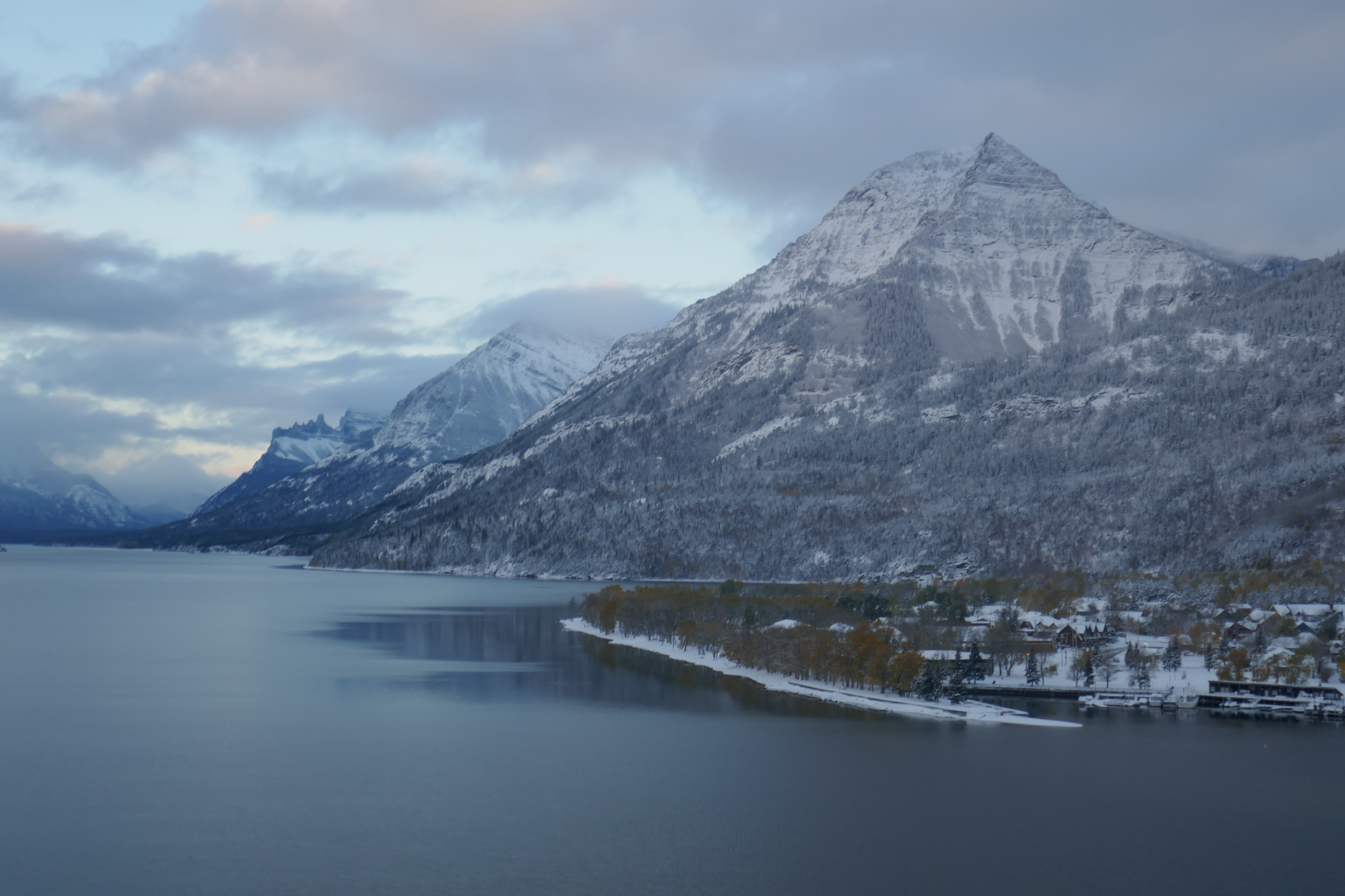 Open for business! Winter in Waterton is waiting for you!