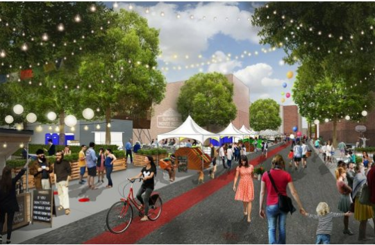 Pop-up 'Backyard' park and 'Backyard Alley Party' coming to 17th Avenue this weekend!