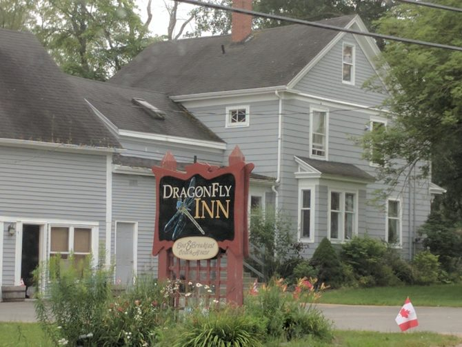 Attention Gilmore Girls fans: There's a bed and breakfast in Nova Scotia called The DragonFly Inn and it's for sale!
