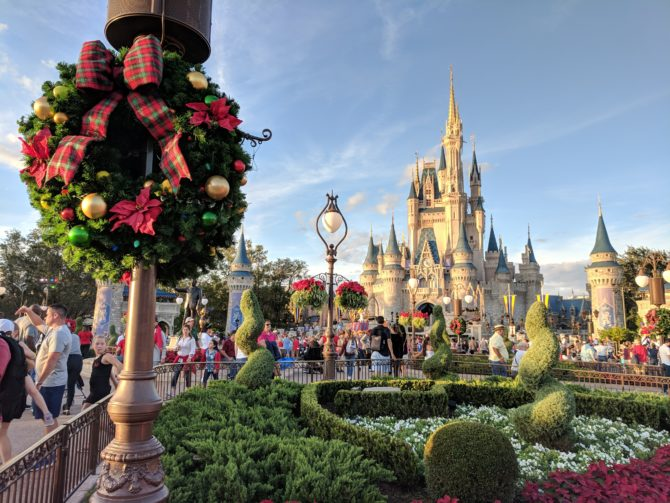 Christmas is extra magical at Walt Disney World!