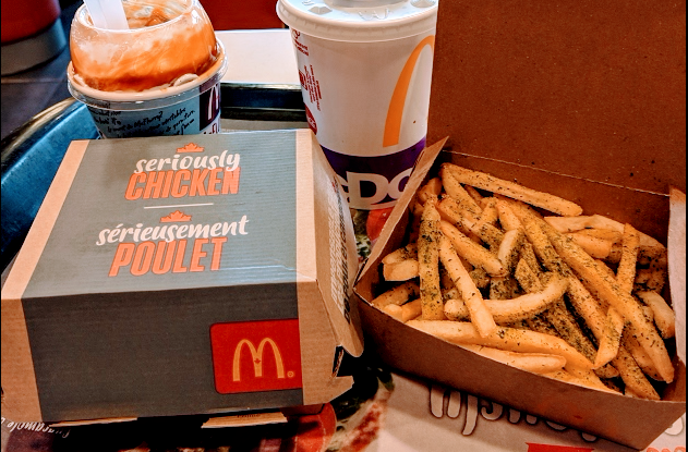 McDonald's new menu items full of holiday cheer!