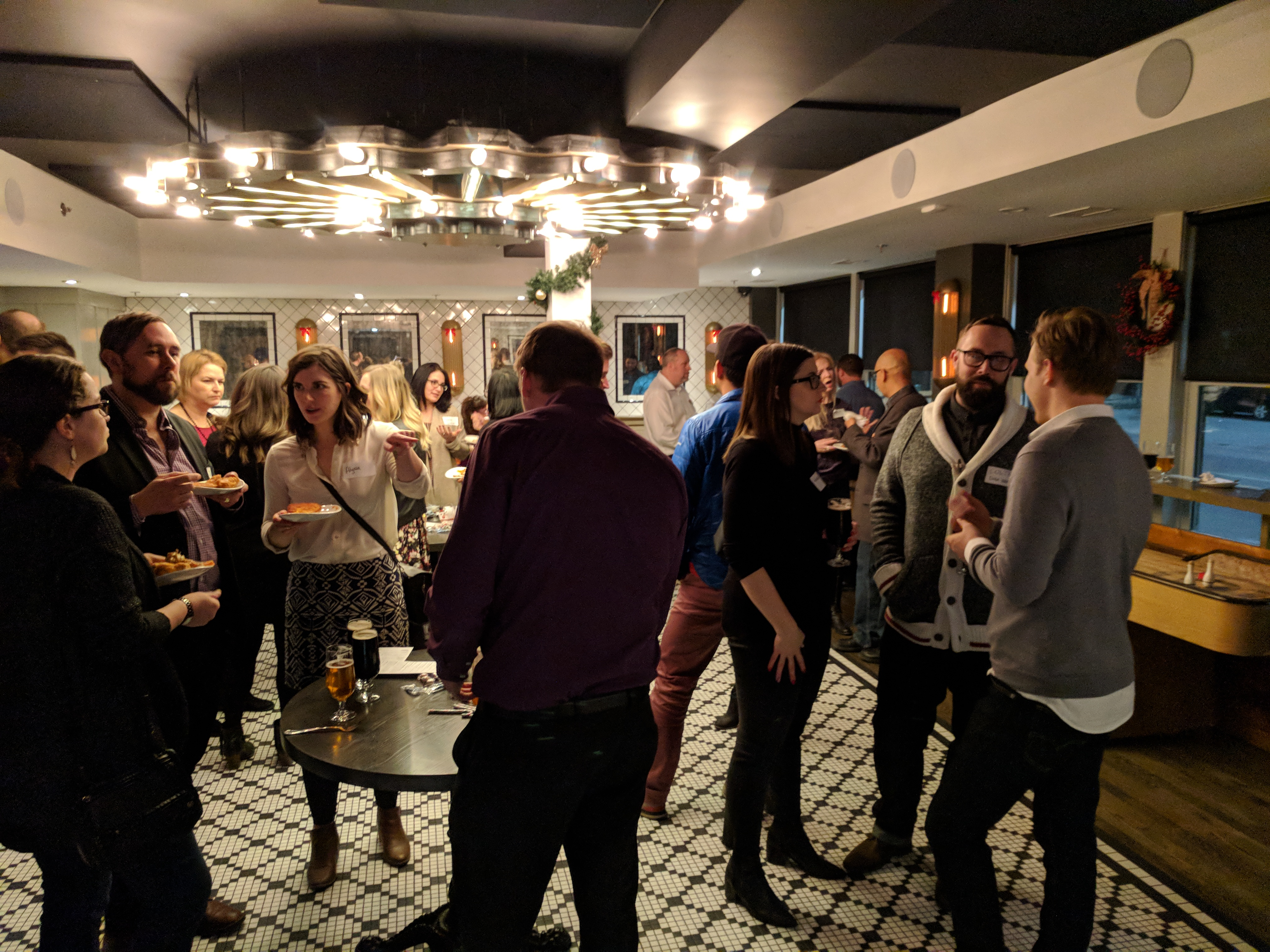 Celebrating Freelancers at the Calgary Freelancer Christmas Party!
