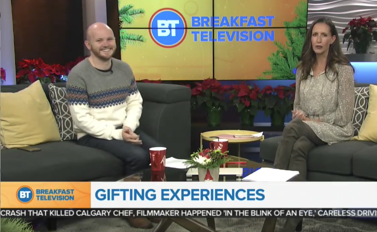 TV segment: Giving the gift of great experiences this holiday!