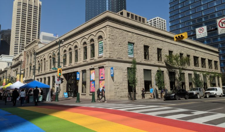 ATB is celebrating its year-round commitment to LGTBQ+ Albertans and Calgary Pride with free gelato!