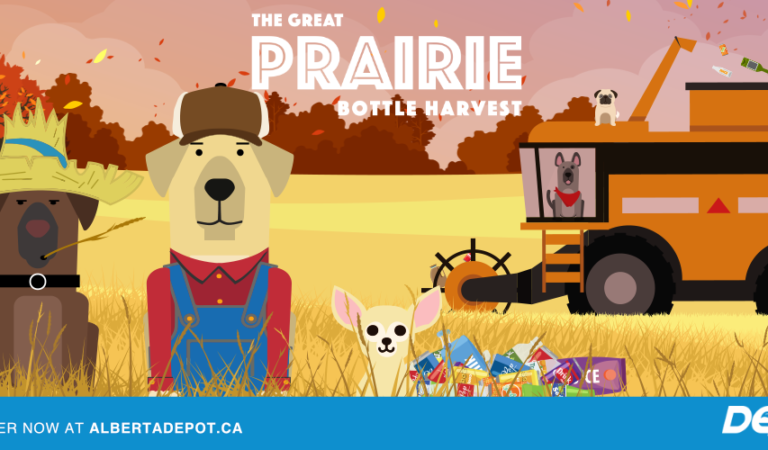 Alberta Depot's Great Prairie Bottle Harvest makes fundraising easier than ever!