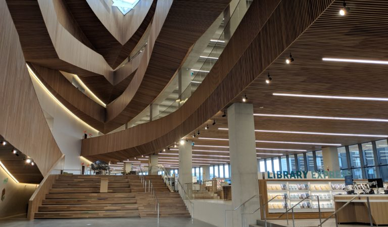10 WTF (in a good way) things about Calgary's new library!