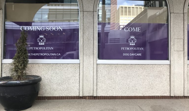 Downtown Calgary is getting a pet hotel called The Petropolitan!
