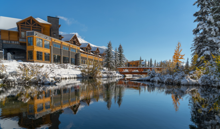 The King's Chambers-Malcolm Hotel is Canmore's First 4-star hotel.