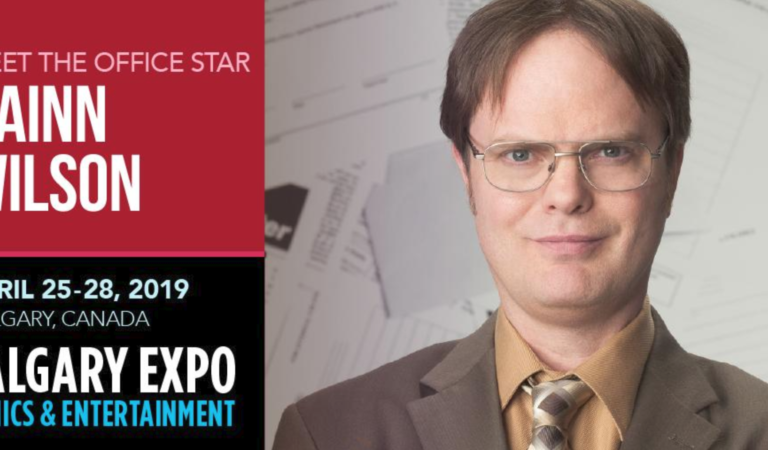 Rainn Wilson will make an appearance at Calgary Expo 2019!
