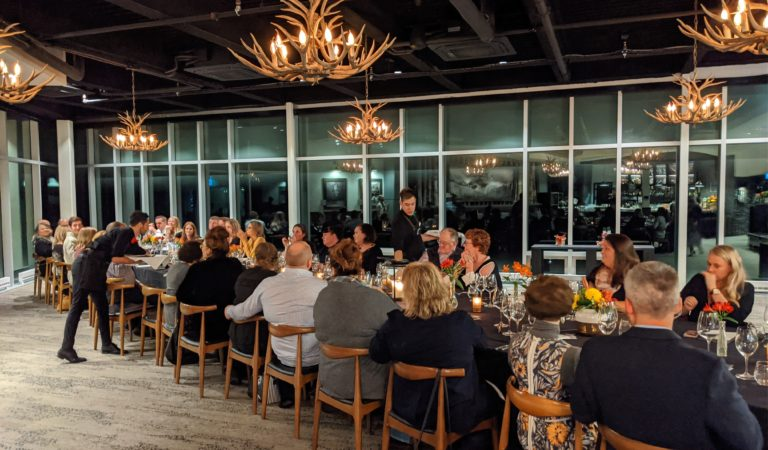 Winemakers' Dinner at Banff Gondola offers unforgettable experience. (But Bring Your Camera Just in Case.)