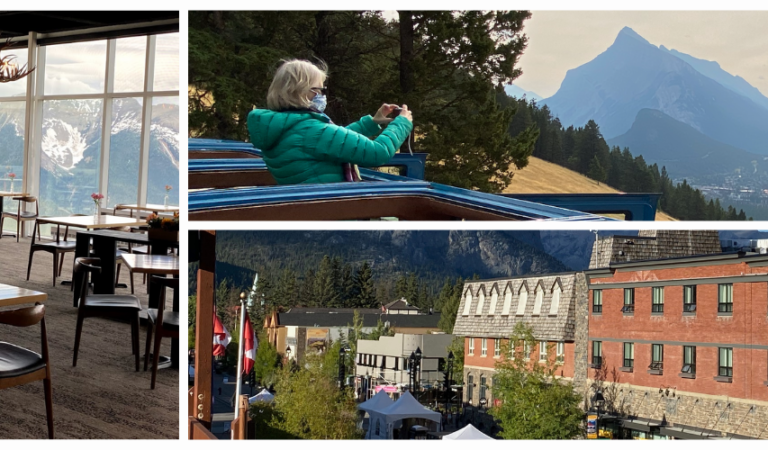Fresh air to fire-side dining: Four reasons to explore Banff this fall.